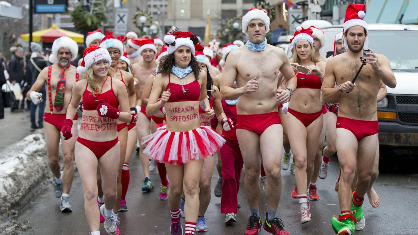 Sexy Santas in Toronto