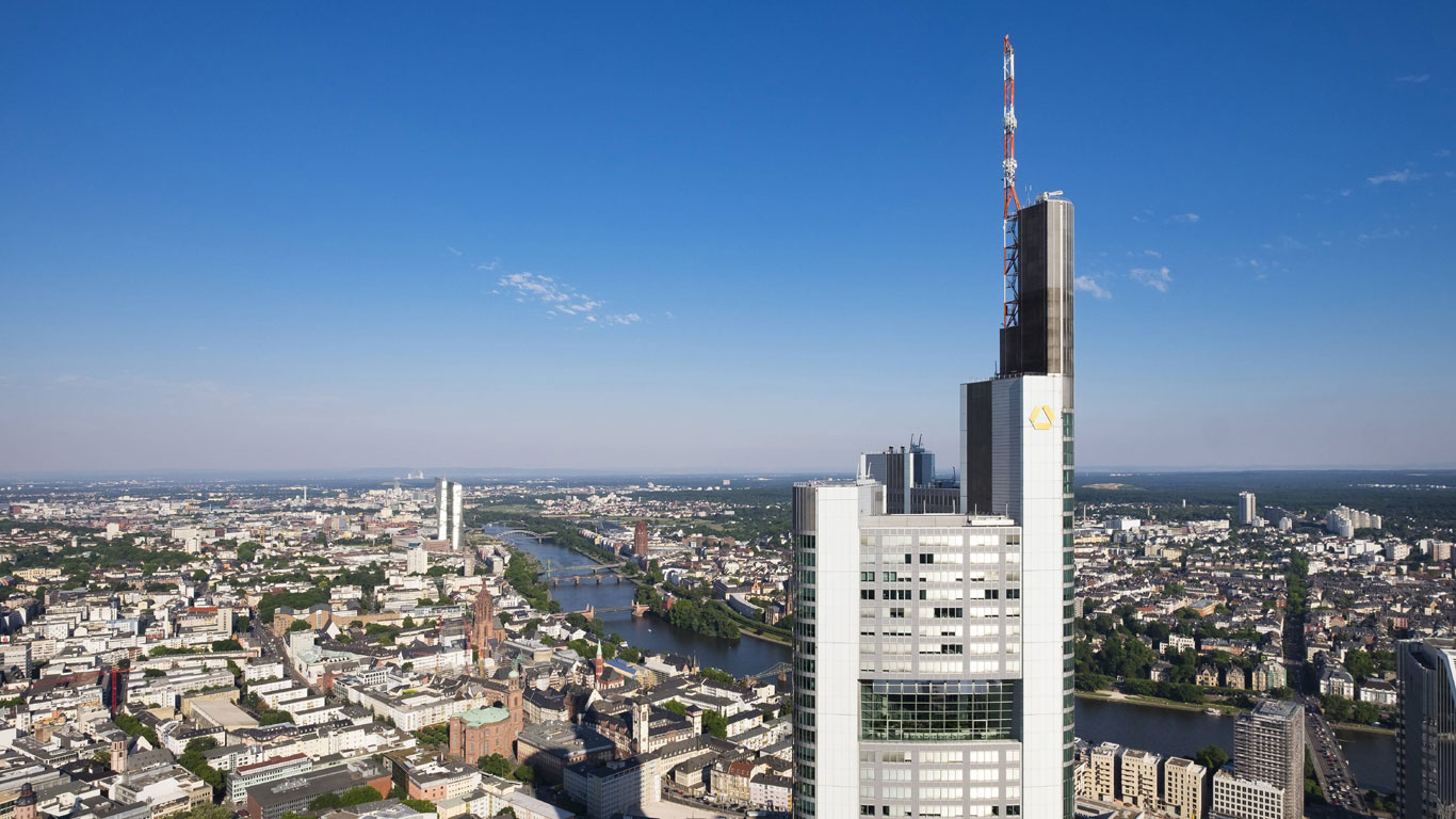 Der Commerzbank Tower in Mainhattan