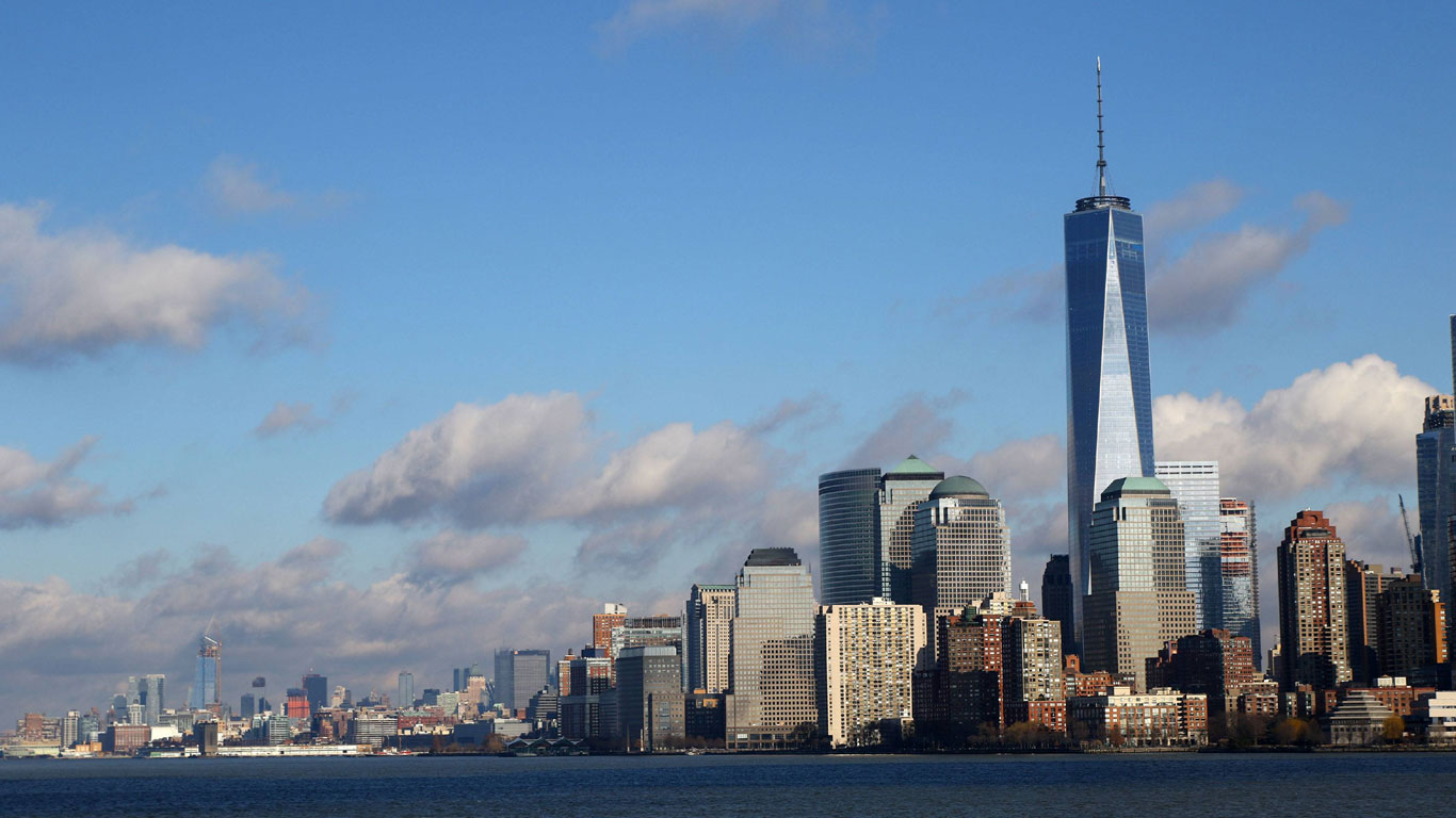 New Yorks neues World Trade Center