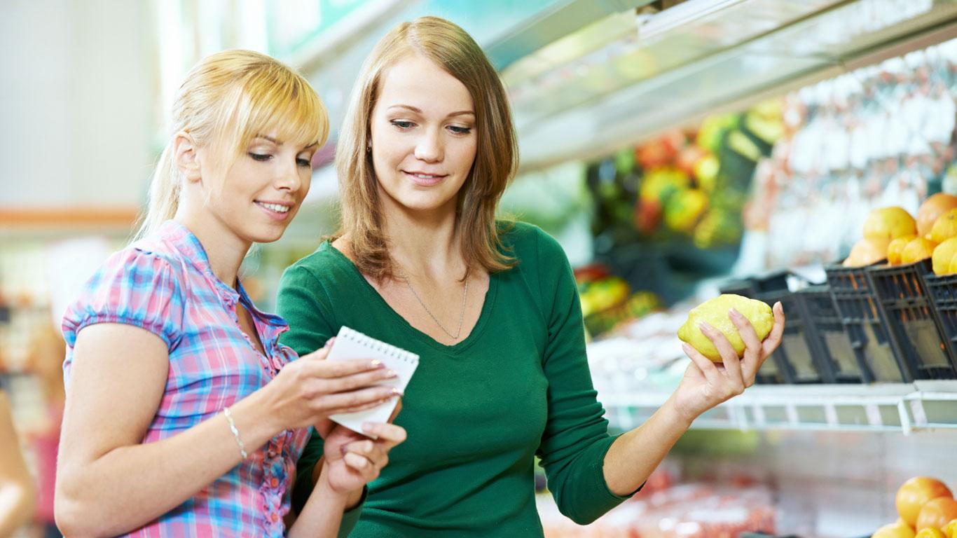 Tipp 1: Lebensmittel planvoll einkaufen