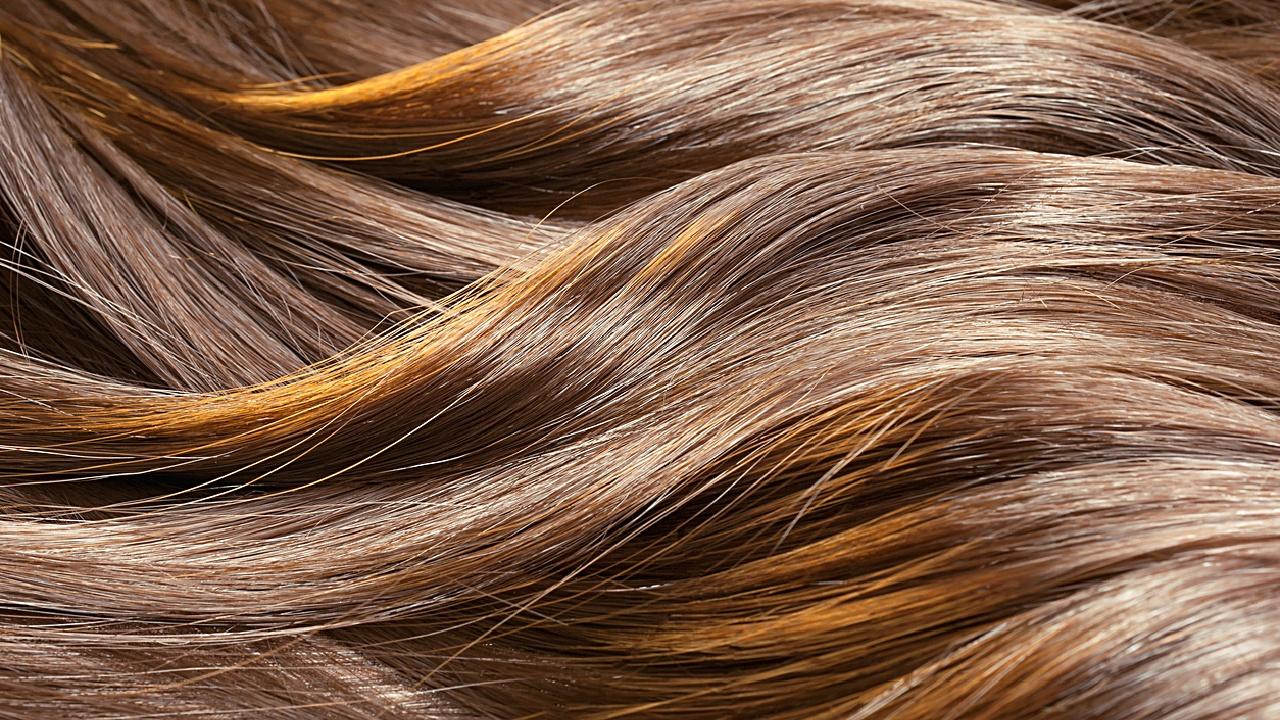 Haare lufttrocknen