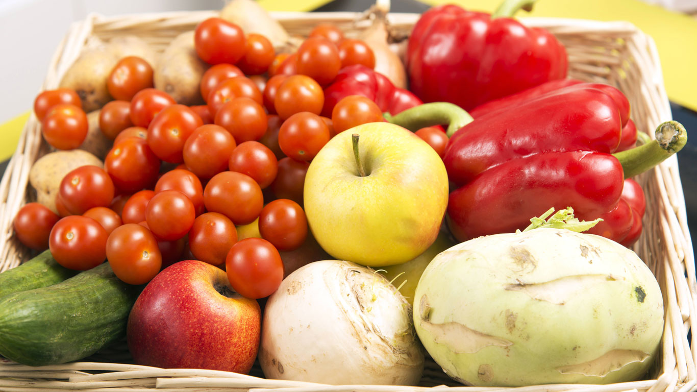 Sellerie nicht neben Äpfeln oder Tomaten lagern