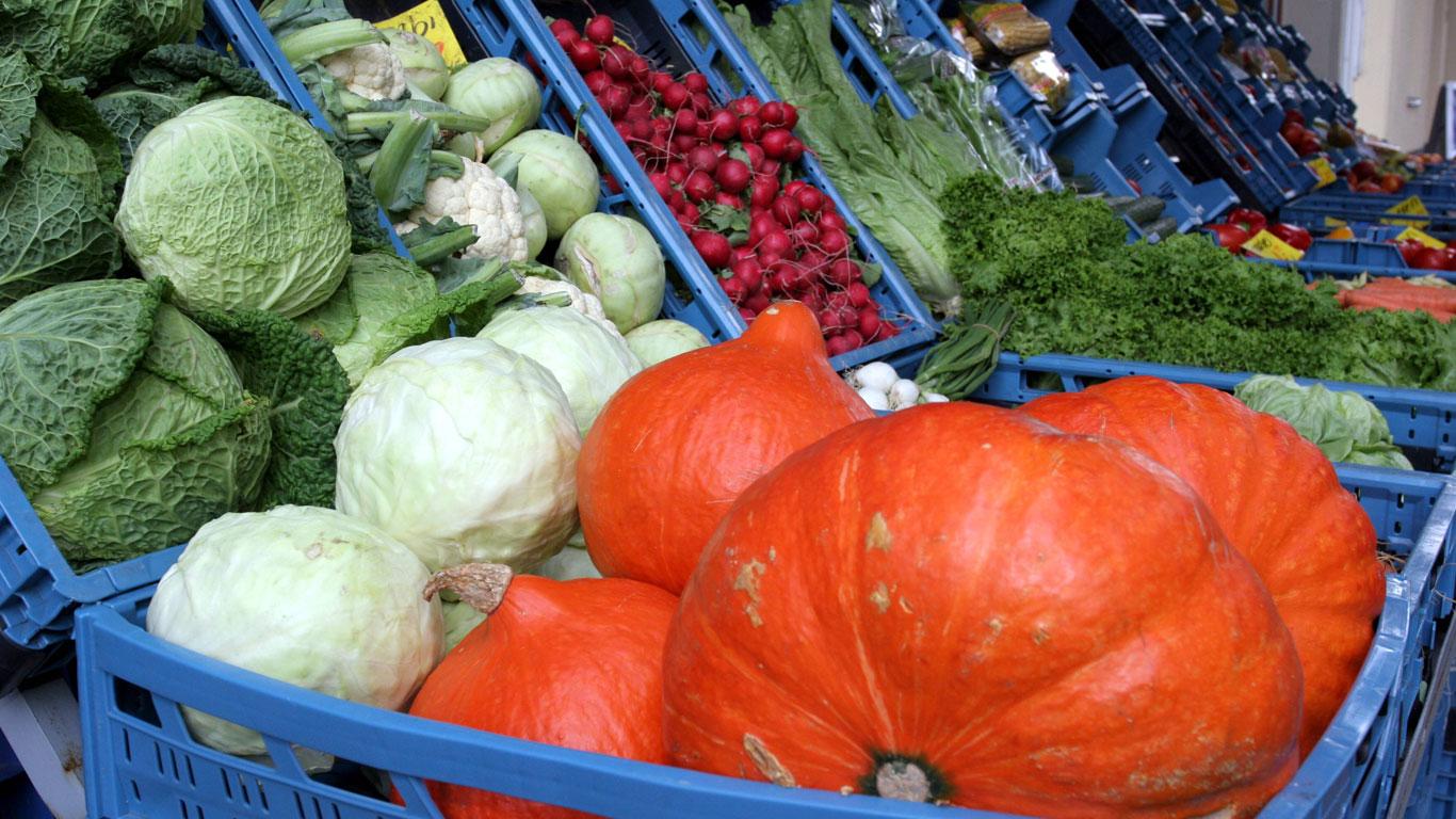 Saisonales Gemüse haltbar machen
