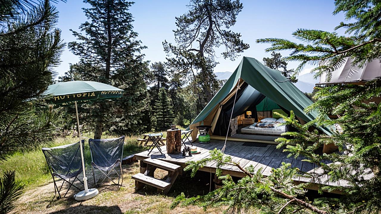 Naturverbunden Campen