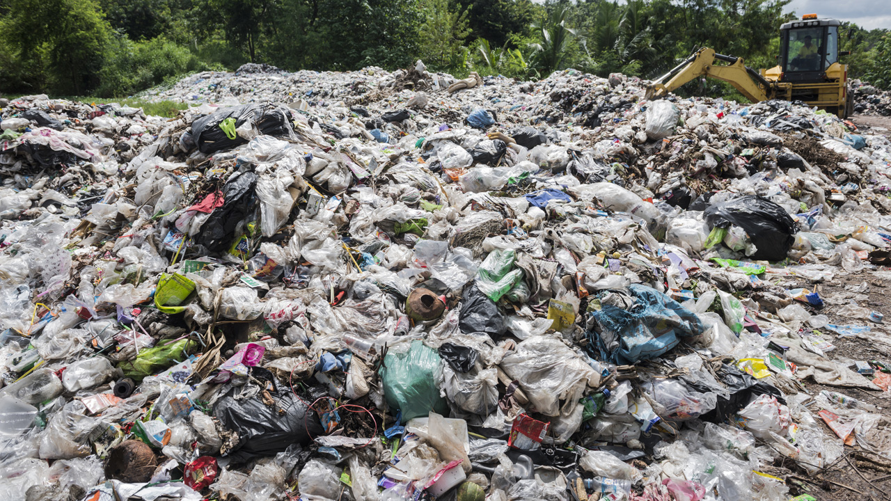 Überall Plastik