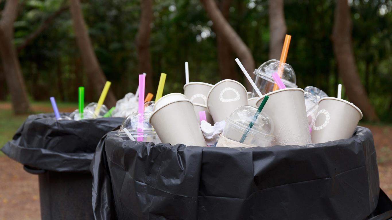 Hohes Müllaufkommen