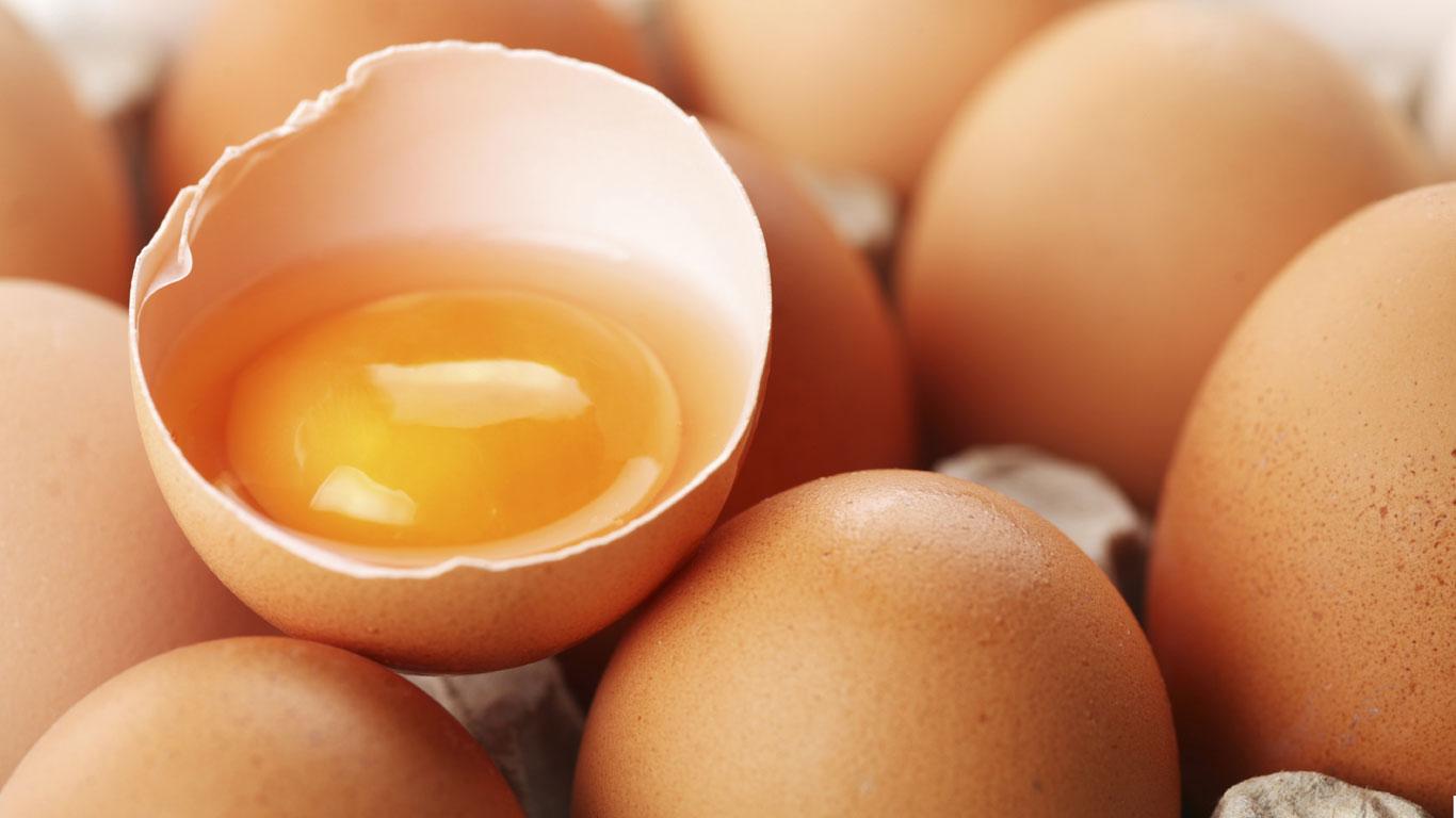 Eier, Butter und Käse