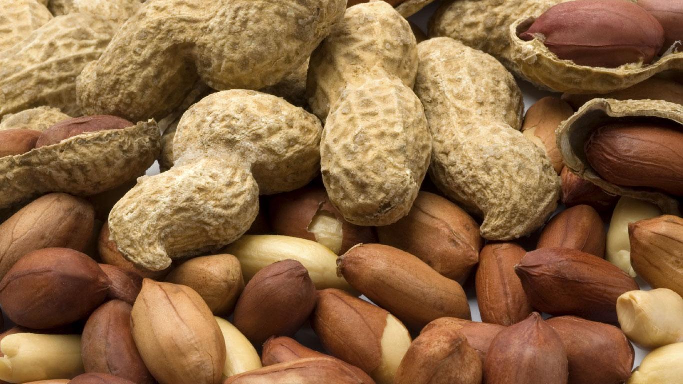 Erdnüsse (mit Schale)